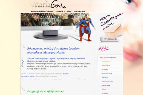 Strona www MariaGerita