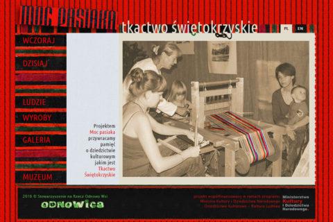 Strona www Moc Pasiaka